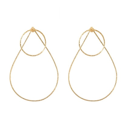 grandes boucles aqua duo