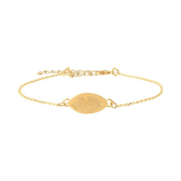 Bracelet feuille Ferny