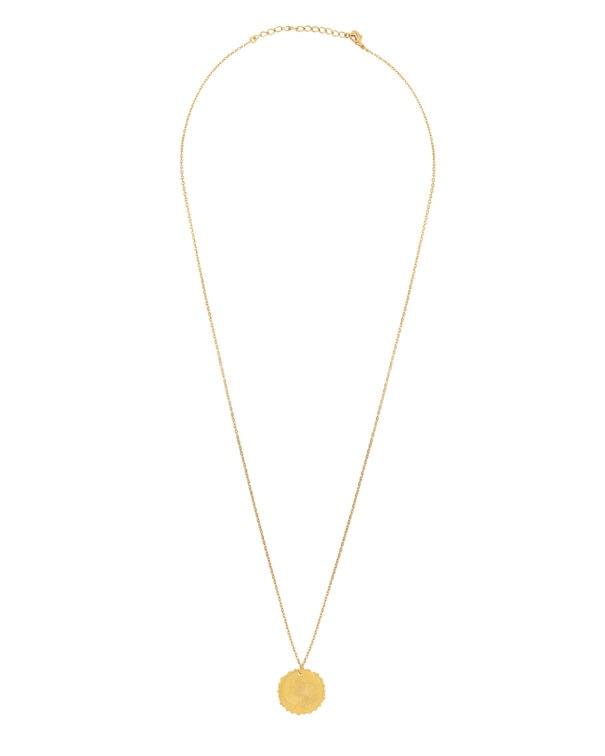 collier bella medaille fleur ld