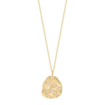 Collier médaille étoiles bianca louise hendricks