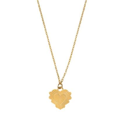 collier coeur grenadine