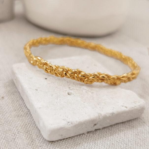 bracelet rosa medium elise tsikis