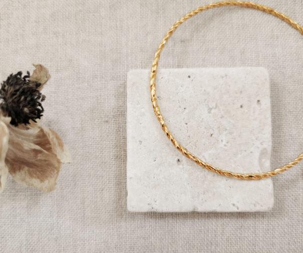bracelet rosa small elise tsikis collection trinidad