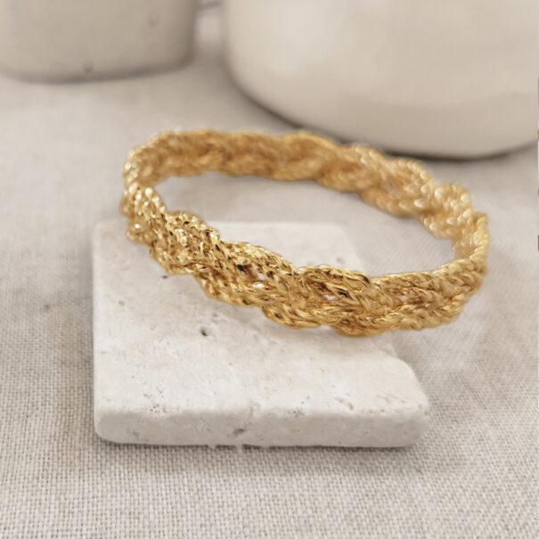 bracelet rosa large elise tsikis