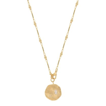 collier médaille gala bijoux louise hendricks paris