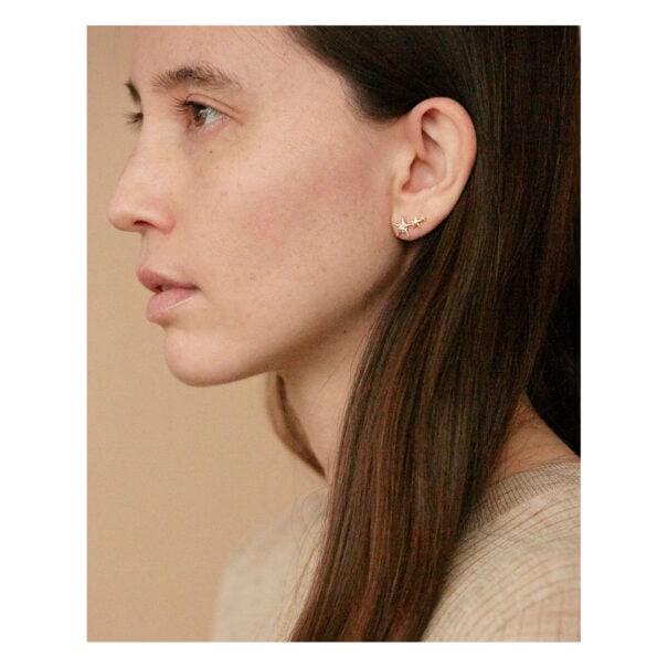boucles d'oreilles Orion étoiles