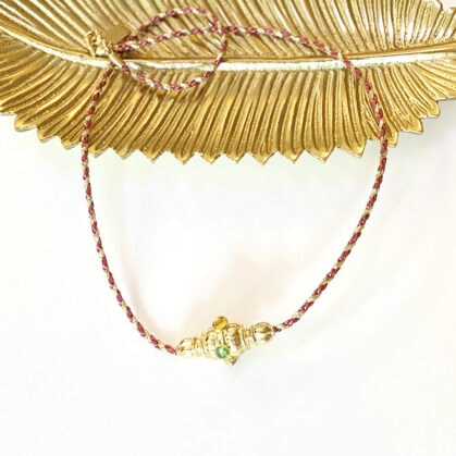 collier moulin cordon chez poisson plume bijoux
