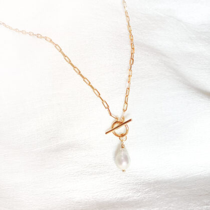 Collier gatsby chez poissonplume bijoux