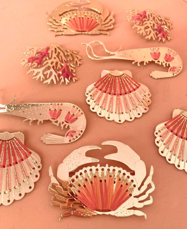 broche crabe antilles