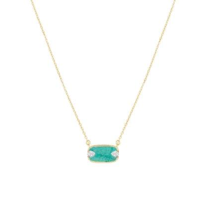 collier sangha turquoise