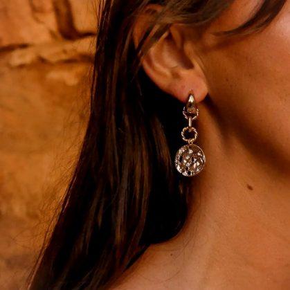 boucles d'oreilles Azzura chez poisson plume bijoux