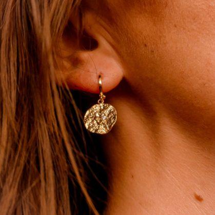 boucles d'oreilles Lucia chez poisson plume bijoux