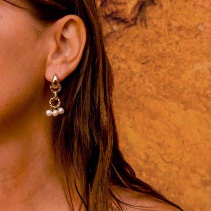 boucles d'oreilles Palma chez poisson plume bijoux