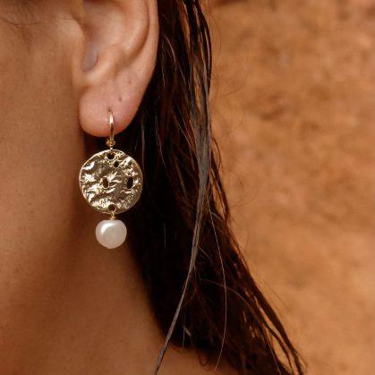 boucles d'oreilles Clara chez poisson plume bijoux