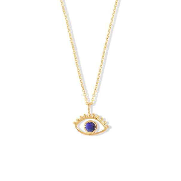Collier Anja Lapis Lazuli Vermeil